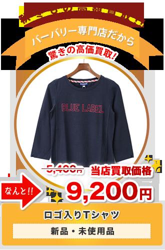 ロゴ入りTシャツ 当店買取価格9,200円