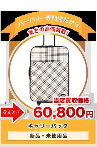キャリーバッグ 当店買取価格60,800円