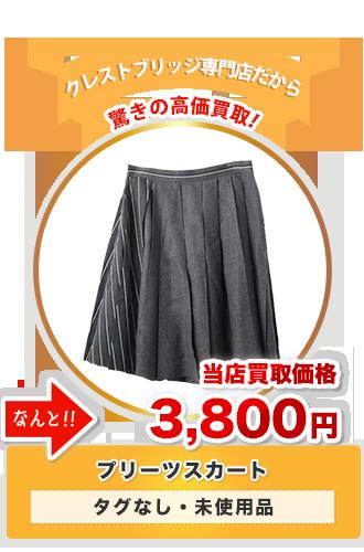 プリーツスカート 当店買取価格3,800円